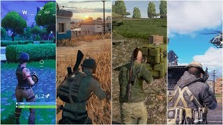 50 Different Battle Royale Games in 5 Minutes!