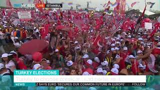 CHP's Ince addresses rally in Istanbul