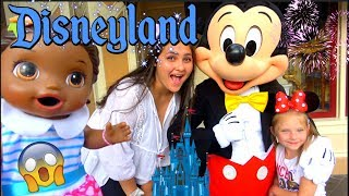 BABY ALIVE goes to DISNEYLAND! PRINCESS for a DAY! The Lilly and Mommy Show! The TOYTASTIC Sisters!
