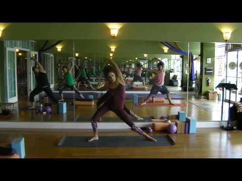 Emily Sabo's Yoga Class (10-23-2016)- SHOULDERS!!! + Full Body Workout -hips, quads, psoas and more