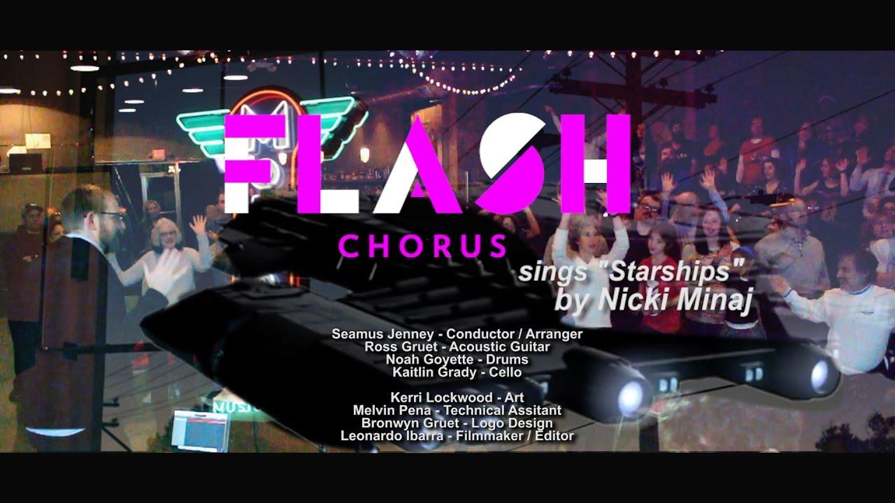 "Flash Chorus sings ""Starships"" by Nicki Minaj - YouTube"