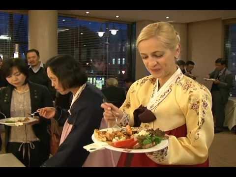빌뉴스에서 인기 끈 한국음식 만찬