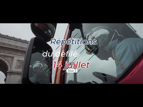 Le Jour J : Défilé Du 14 Juillet 2019 Pour Nos Soldats Du Feu.