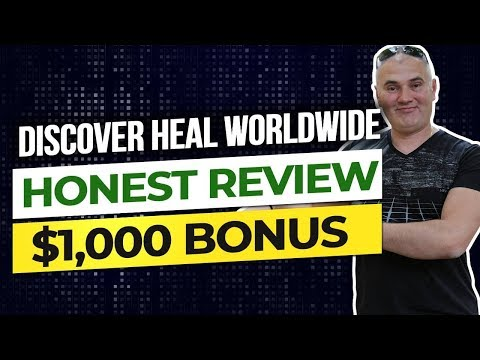 [Discover Heal Review] by Alex Zubarev| Discover Heal $1000 BONUS 😱 COMP PLAN by Stephen Munson