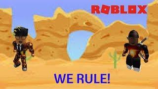 Wir regieren den Wilden Westen!! (Roblox mit Herrn SOL)