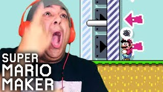 I HAVE NEVER IN MY LIFE BEEN TROLLED THIS HARD... [SUPER MARIO MAKER] [#188]
