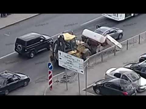 Авария в Красном Селе 25.07.19