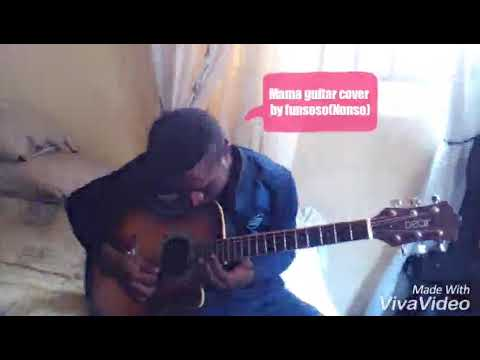 Mayorkun Mama Guitar Cover By Funsoso D Guitarist