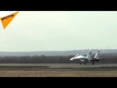 Russia's Su-30SM Multirole Jets Fly Up and Up