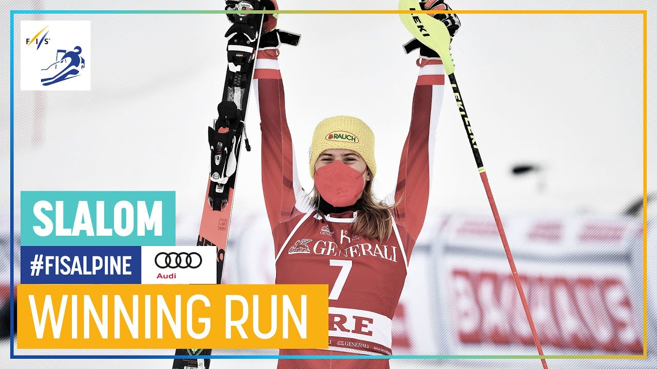 Katharina Liensberger Claims First World Cup Victory in Åre