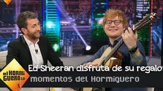 Pablo Motos regala a Ed Sheeran una guitarra española en 'El Hormiguero 3.0' MP3