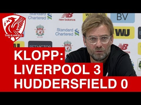 Liverpool 3-0 Huddersfield | Jurgen Klopp Post Match Press Conference