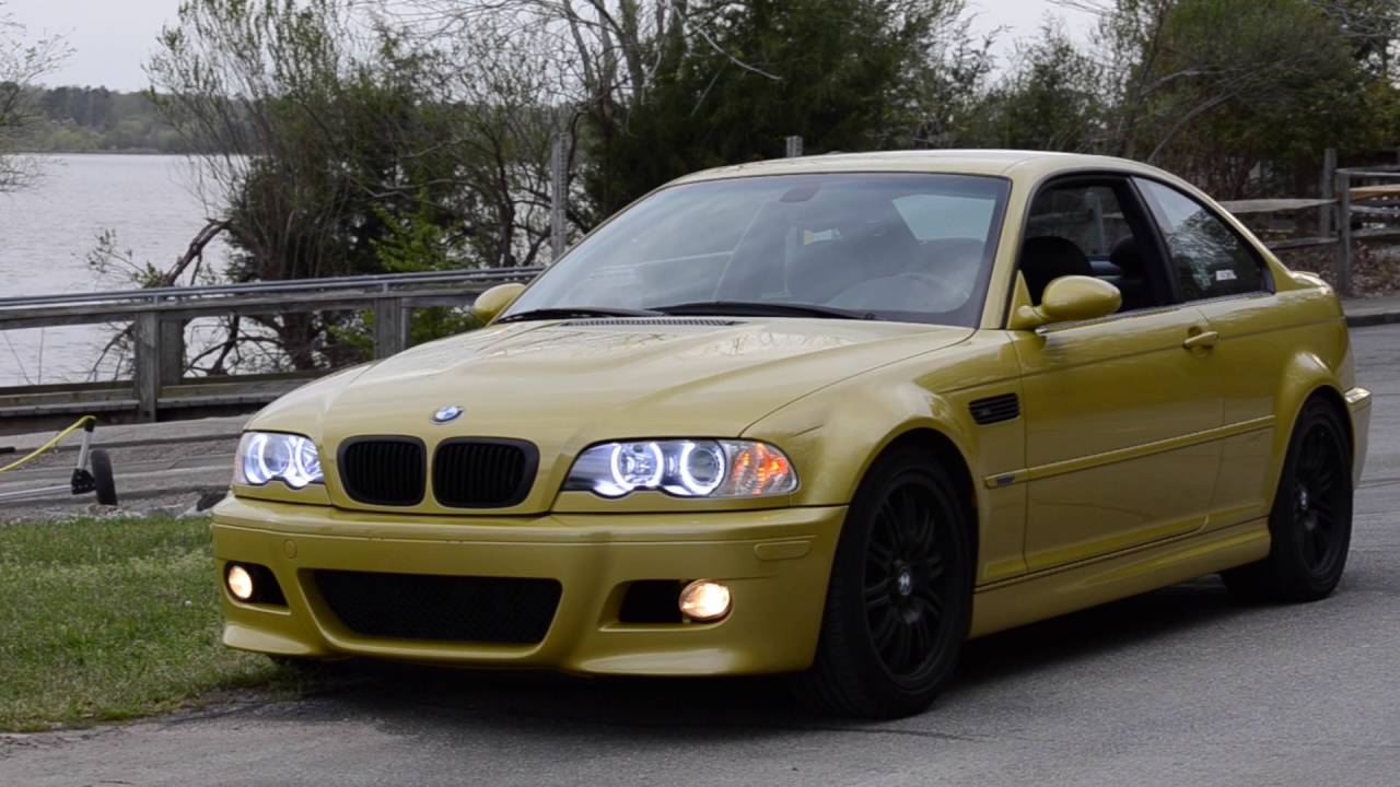 Bmw E46 M3 Phoenix Yellow Youtube
