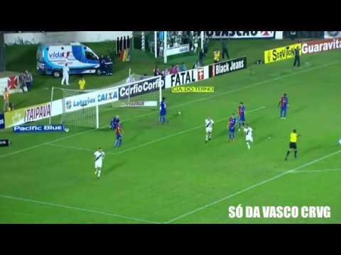 Gols Vasco 1 x 2 Paraná Brasileiro Série B 28/06/2016