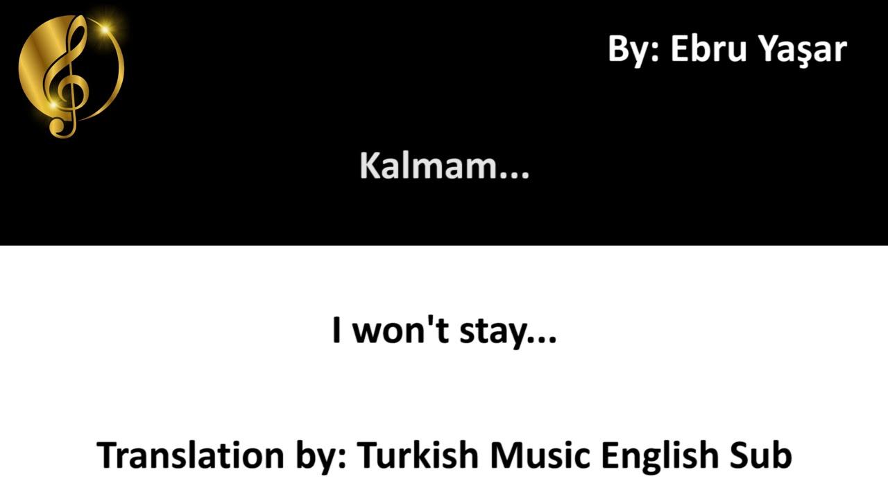 Nahide Babasli Sevdanin Karasi Turkish English Lyrics Youtube