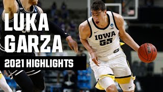 Luka Garza 2021 NCAA tournament highlights