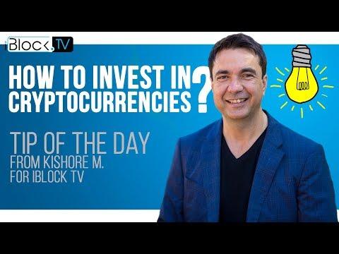 TIP FOR CRYPTO INVESTORS | KISHORE M. (FUTURE1COIN) FOR IBLOCK TV