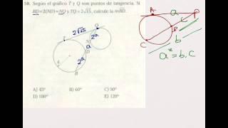 Geometría: Relaciones Métricas en la Circunferencia