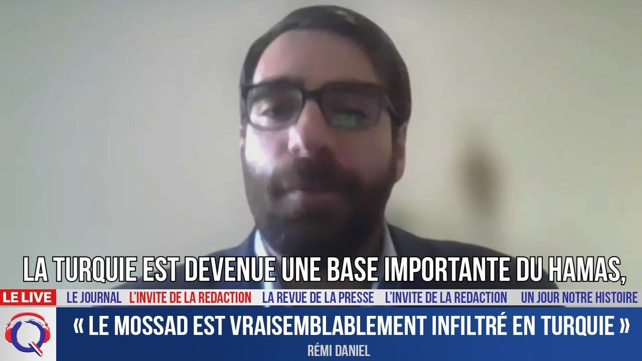 « Le Mossad est vraisemblablement infiltré en Turquie » - L'invité du 22 octobre 2021