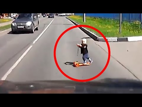 20 LUCKIEST PEOPLE CAUGHT ON CAMERA