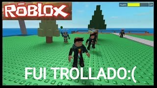 ROBLOX MORRI PARA UM BUG? (Roblox Natural Disaster Survival)