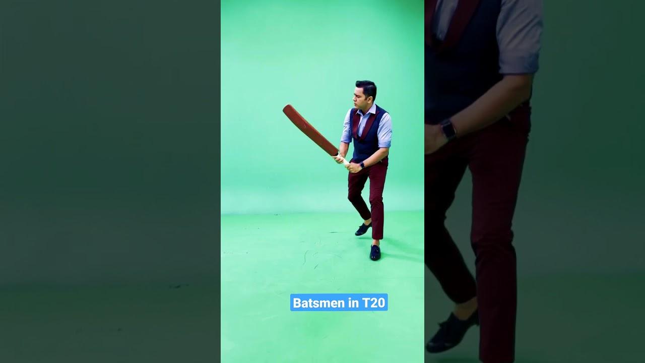 Tests vs T20: Batting edition 🏏 #AakashVani #Cricket