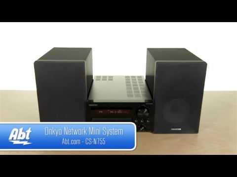 Onkyo Mini Hi-Fi System CSN755 Overview - YouTube