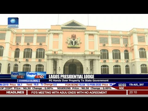 FG Hands Over Lagos Presidential Lodge To State Govt