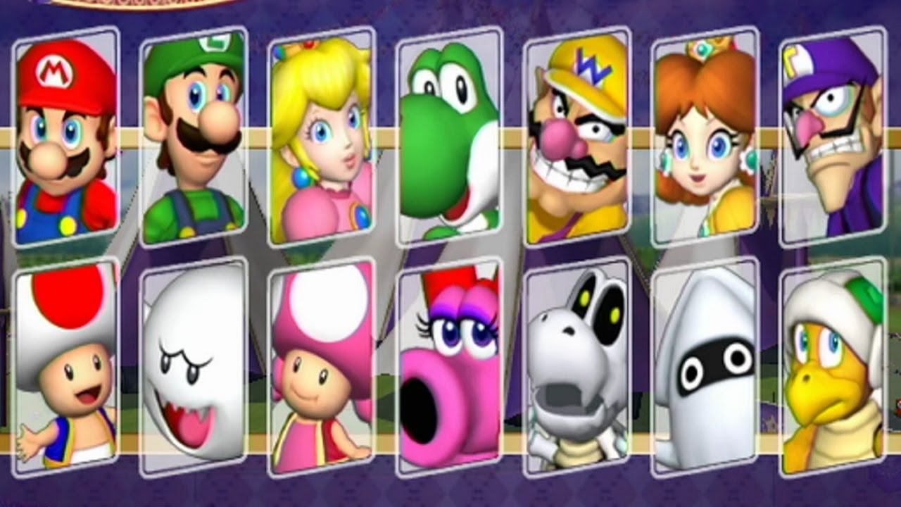 Mario Party 8 - All Ch...
