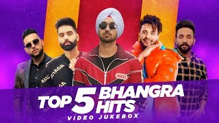 Top 5 Bhangra Hits | Video Jukebox | Latest Punjabi Song 2020 | Speed Records