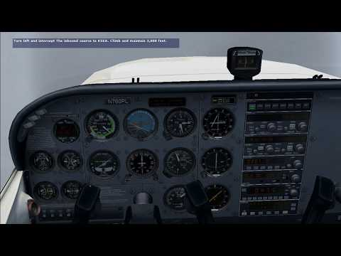 FSX C172 INSTRUMENT RATING CHECK RIDE PART 2 HD