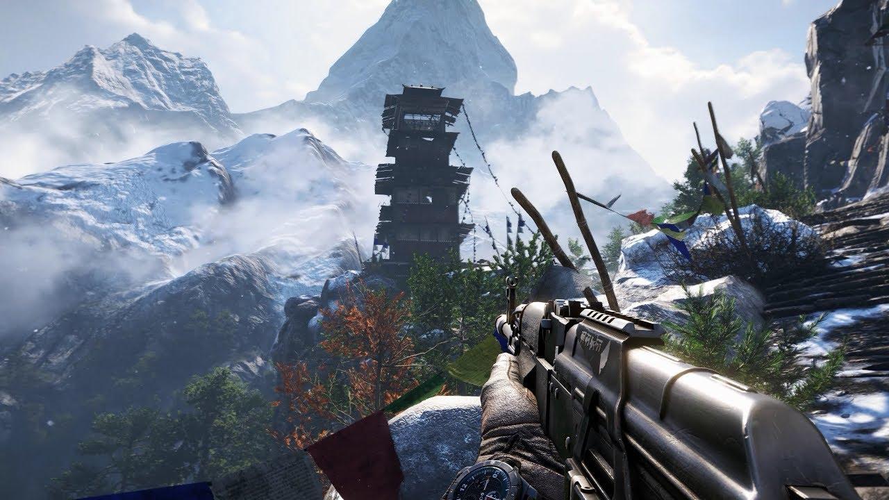 Far Cry 4 - GTX 1080 Ti - 3440x1440 - Ultra Settings - Acer Predator X34 - YouTube