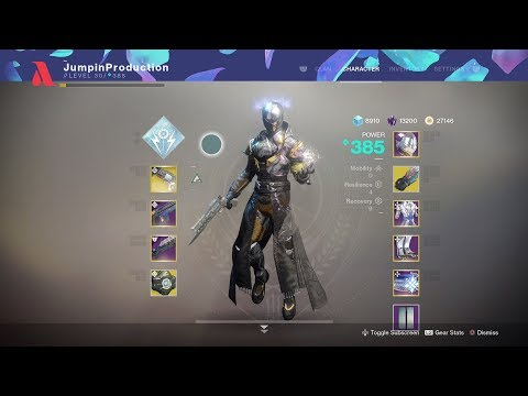 Destiny 2: The Unkillable Warlock Build!