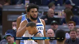 Minnesota Timberwolves vs Memphis Grizzlies | December 1 2019