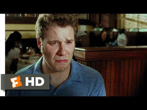 Funny People (6/10) Movie CLIP - Ira Cries at Lunch (2009) HD