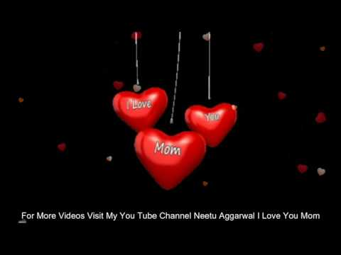 I Love You Mom E-Card