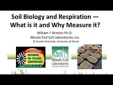 Soil Biology and Respiration - What is it and Why Measure it?