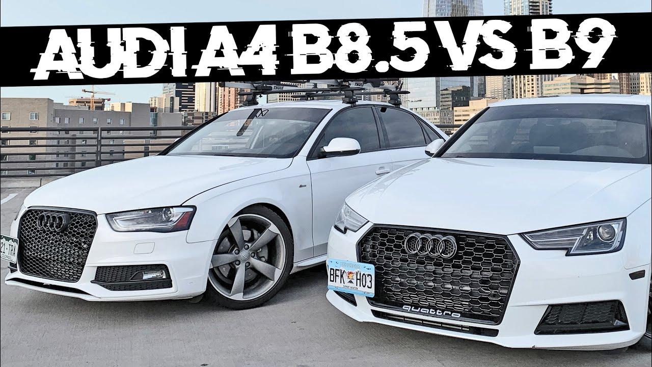 2017 Audi A4 B9 Vs 2014 Audi A4 B8 5 Review