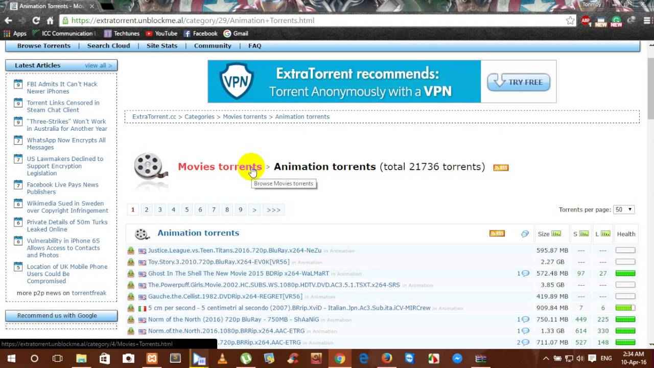 torrent to download movie