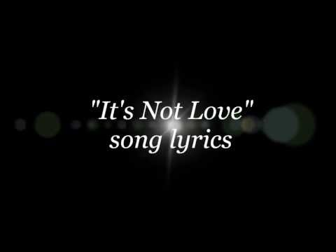 Dokken - It's Not Love lyrics