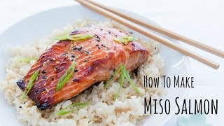 How To Make Miso Salmon (recipe) 味噌サーモンの作り方(レシピ)