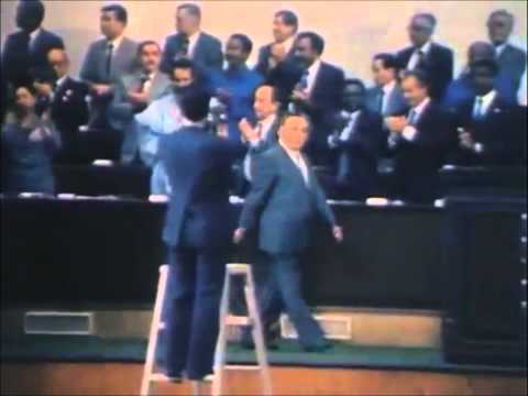 Great Leader KIM IL SUNG with tumor on his neck.