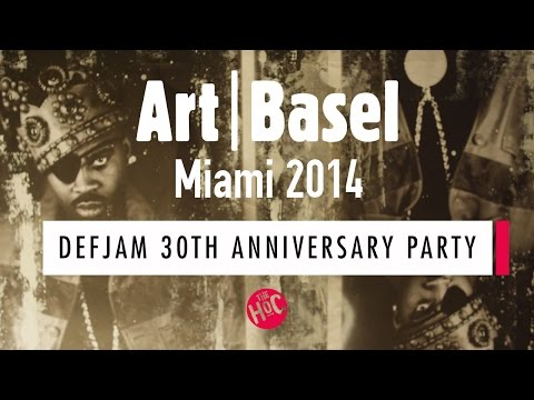 DefJam 30th Anniversary Party  The HoC Art Basel 2014