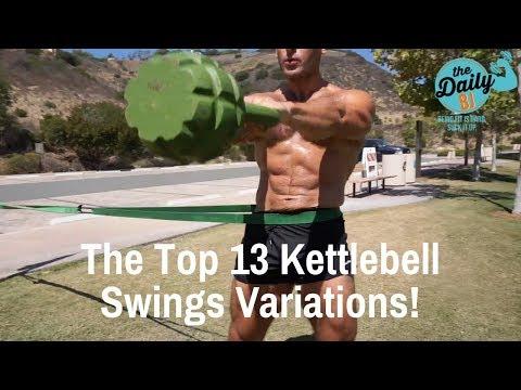 The Top 13 Kettlebell Swings Variations | BJ Gaddour Kettlebells Workout