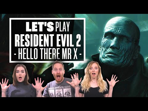 Let's Play Resident Evil 2: HELLO THERE, MR X!