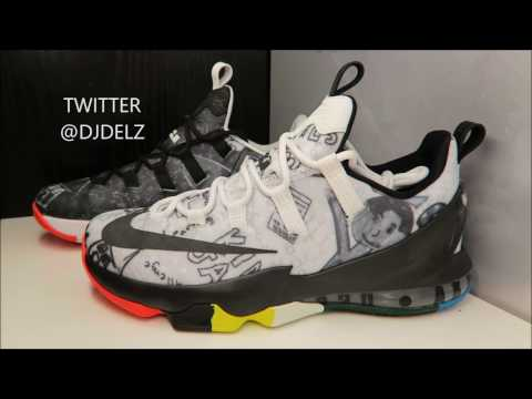 """NikeLebron James Foundation 13 Low """"I Promise"""" Sneaker Detailed Review + On Feet"""