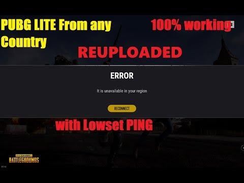 ReUpload PUBG LITE (unavailable in your region) FIX !! Mp3