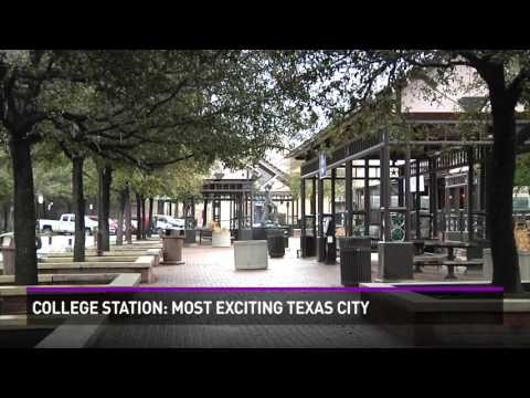 College Station named as the most exciting Texas city