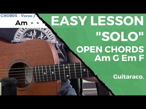 Demi Lovato - Sober // EASY Guitar Lesson (4 Open Chords)