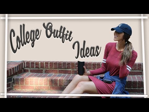 CUTE COLLEGE OUTFIT IDEAS! Outfit Ideas For College! What to Wear to College?